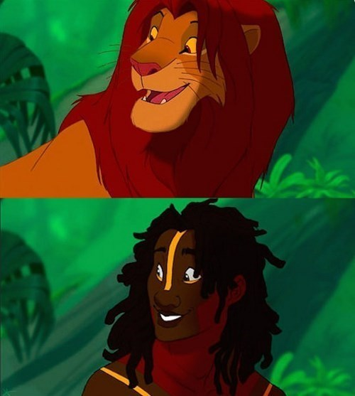 Disney's animals characters tale human form