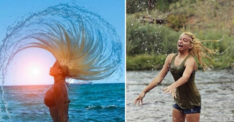 girl tries to make a hair arc and fails - Times When Expectation Met Reality on Pinterest