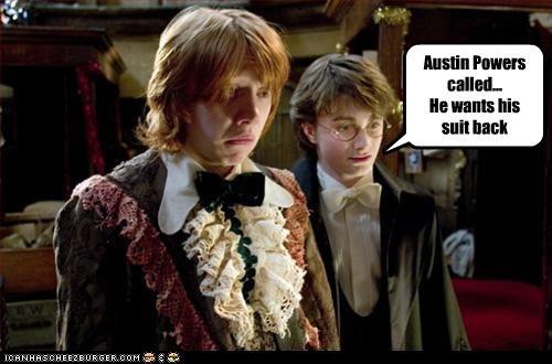 austin powers costume Daniel Radcliffe Harry Potter rupert grint sci fi - 2468310784