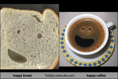 happy bread Totally Looks Like happy coffee