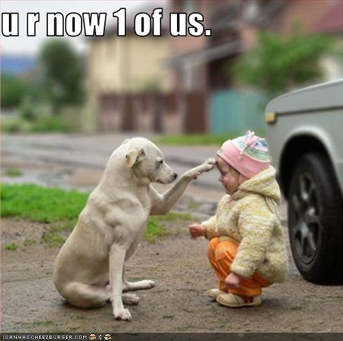 family human kid labrador - 2473275648