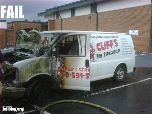 burn fire fire extinguisher g rated prevention van - 2476362496