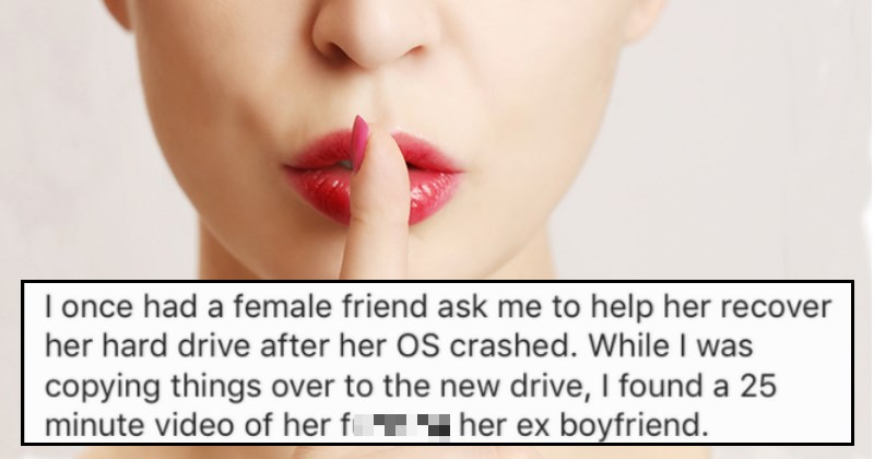 People Share the NSFW Secrets They Know About Someone That They Can Never Share
