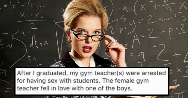 High School Teachers Spill the Details on the Juicy NSFW Things That Are Going On At Their Schools