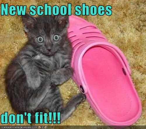 New School Shoes Don T Fit
