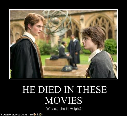 HE DIED IN THESE MOVIES Why cant he in twilight?