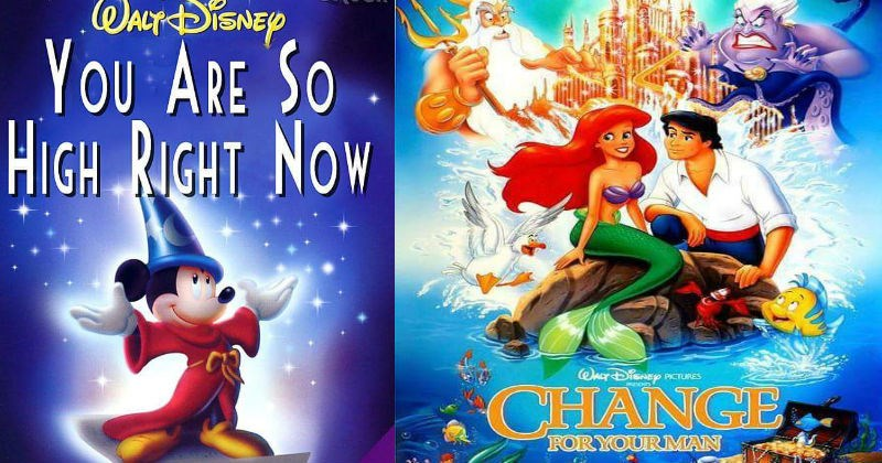 Reworked Disney movie titles that make fun of the plots by being brutally honest.
