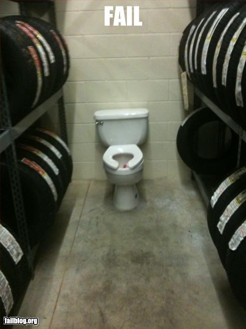 commode fail