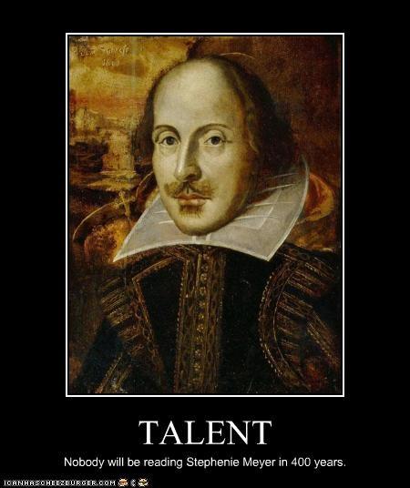 books,classics,stephenie meyer,talent,twilight,william shakespeare