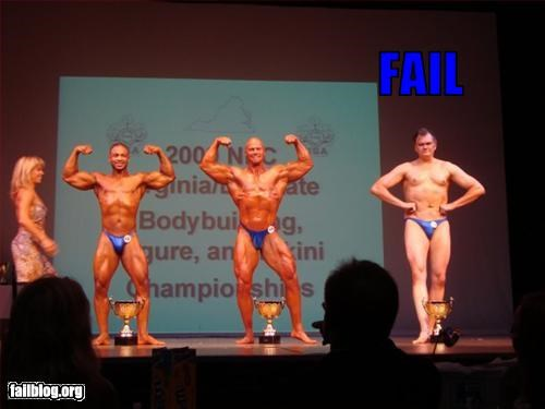 bodybuilding flabby g rated muscles posing - 2502335744