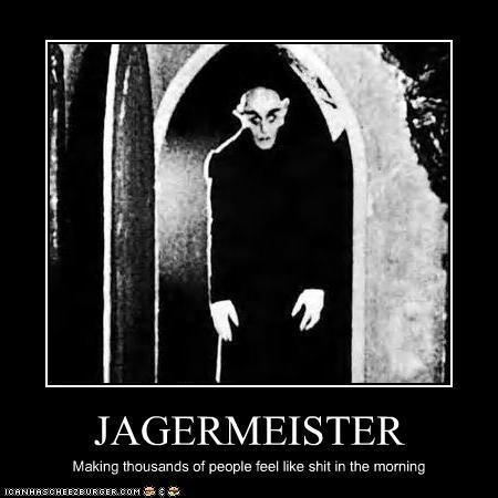 drinking jagermeister nosferatu vampires - 2505364224