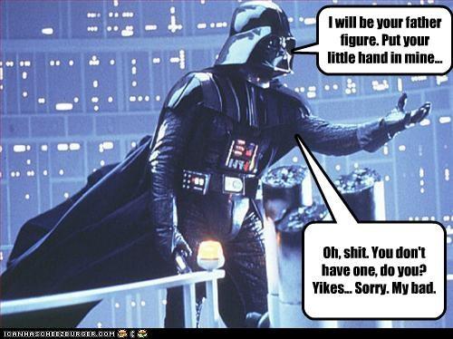 darth vader fatherhood George Michael sci fi star wars - 2509306112