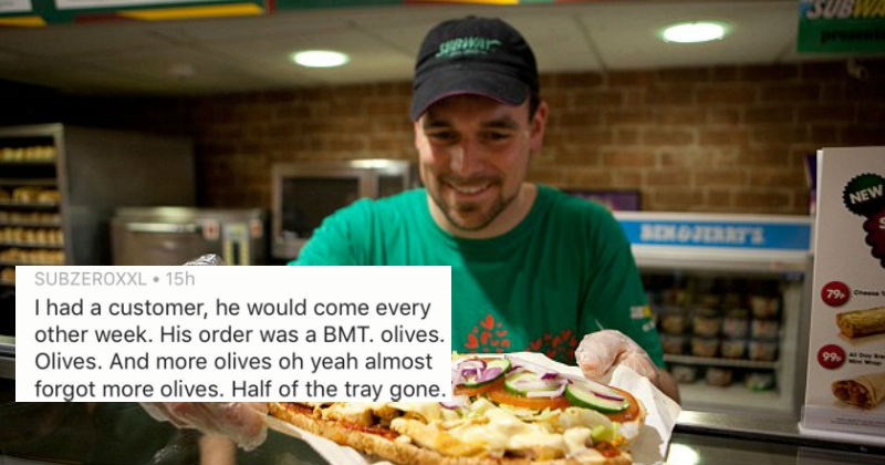 Subway workers share stories of the grossest sandwiches they've ever made.