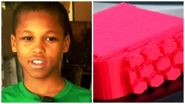 10 years old boy invents a device to help minimize kids deaths in over heated cars