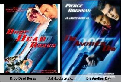 die another day,drop dead roses,james bond,movies,posters