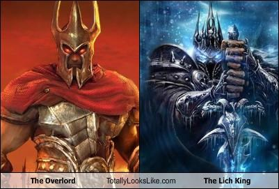The Overlord Totally Looks Like The Lich King Cheezburger Funny