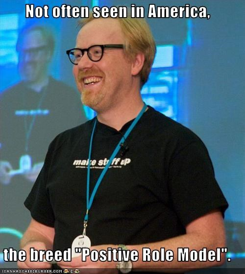 adam savage,mythbusters,Role Model,TV