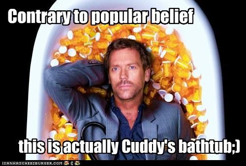 Contrary to popular belief this is actually Cuddy's bathtub;)