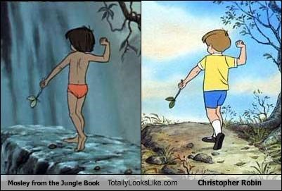Mosley from the Jungle Book Totally Looks Like Christopher Robin