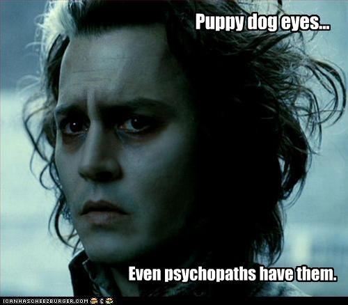 eyes Johnny Depp movies psychos Sweeney Todd - 2529193472