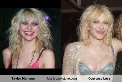 actress courtney love gossip girl musician taylor momsen TV