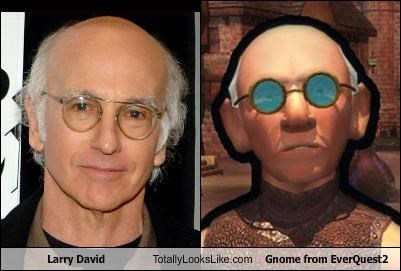 comedian everquest gnome larry david TV video games
