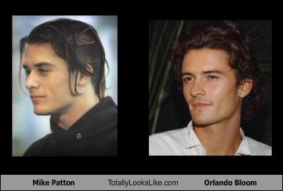 Mike Patton Totally Looks Like Orlando Bloom Cheezburger Funny