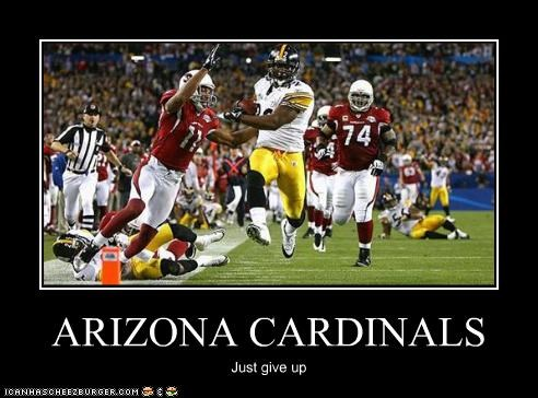 Arizona Cardinals Cheezburger Funny Memes Funny Pictures