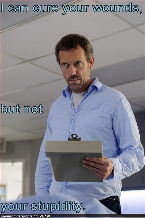comedian House MD hugh laurie sexy Brits stupidity - 2535874816