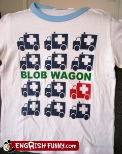 blob clothing g rated T.Shirt wagon