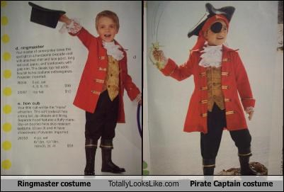 child costume Pirate ringmaster