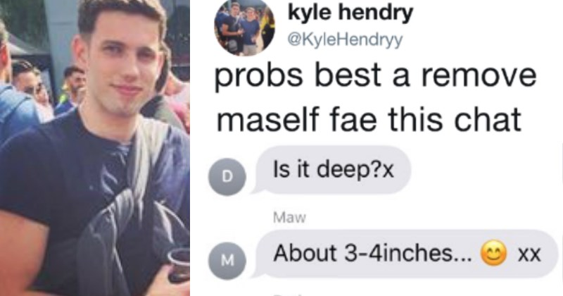 Guy Gets Caught In the Middle of An Extremely Awkward Group Chat With His Parents
