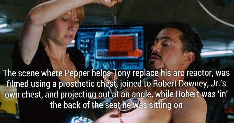 Facts From the Making of Iron Man 1 & 2