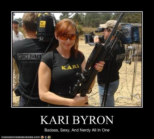KARI BYRON Badass, Sexy, And Nerdy All In One