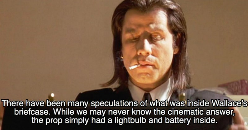Facts From the Making of 'Pulp Fiction' That Will Blow Your Mind
