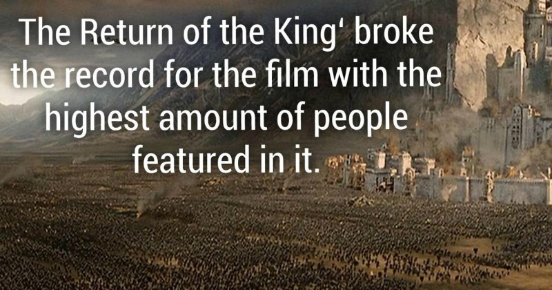 Facts From the Lord of the Rings That Will Crush Your Boredom
