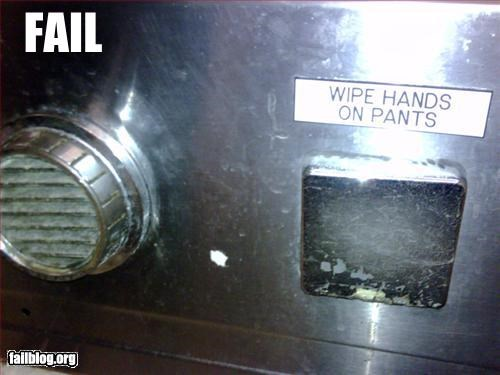 bathroom g rated hand dryer hands pants waffle house wipe - 2543002624