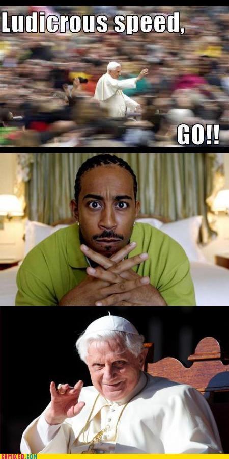 ludacris ludicrous pope - 2544008960