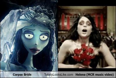Corpse Bride Totally Looks Like Helena Mcr Music Video