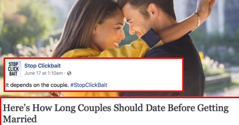 """Stop Clickbait"" social media posts with funny honest headlines that will amaze you with their quality."