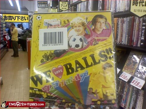 balls DVD love Movie