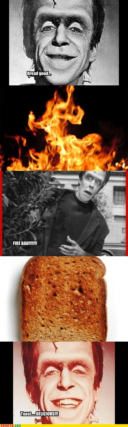 fire bad munster toast - 2550788352