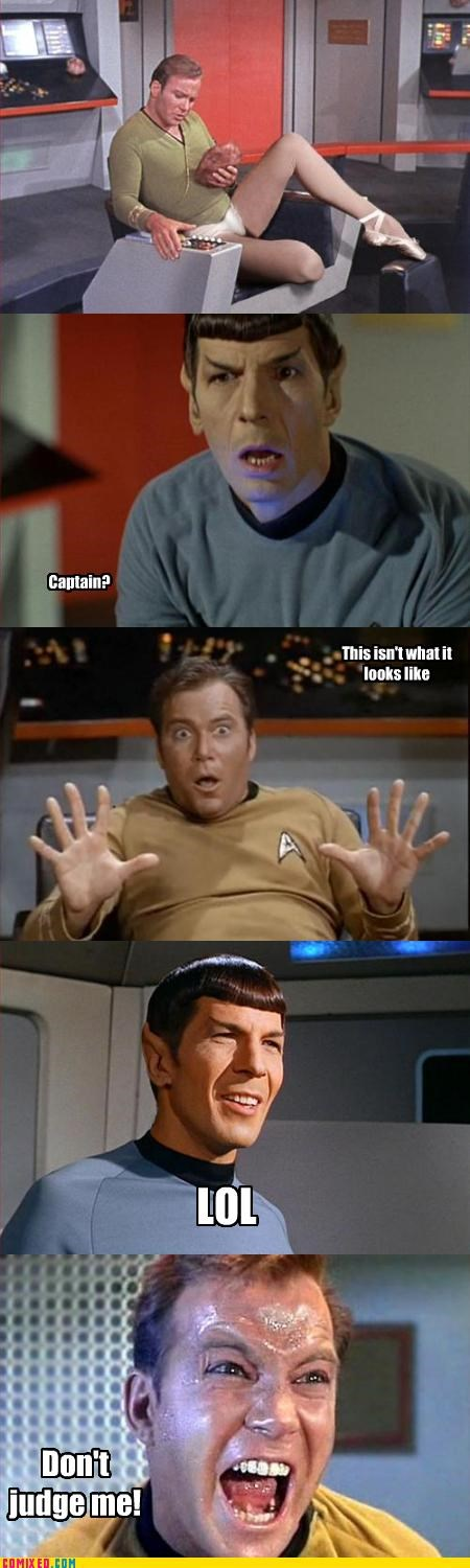 kirk,Spock,Star Trek,tribble,unsee