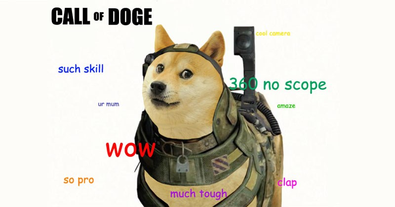 Collection of dog memes, specifically shiba inu doge memes.
