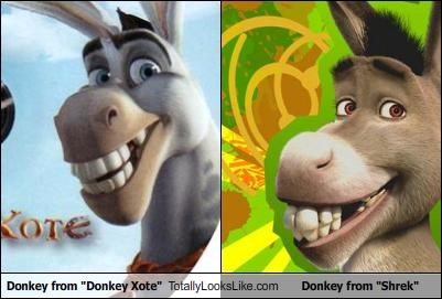 "Donkey from ""Donkey Xote"" Totally Looks Like Donkey from ""Shrek"""