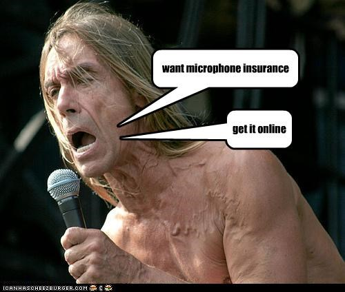 want microphone insurance get it online