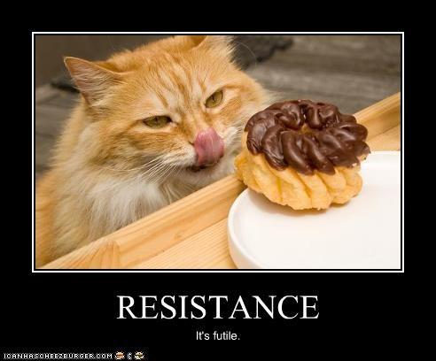 RESISTANCE It's futile.