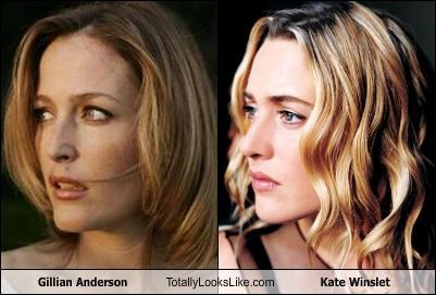Gillian anderson look alike photos 364