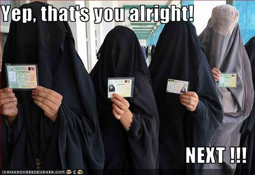afghanistan elections voters women - 2552935168