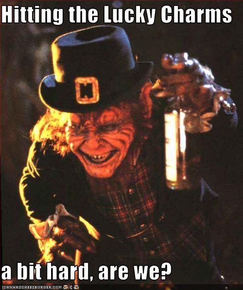 drinking horror leprechaun movies - 2556526848